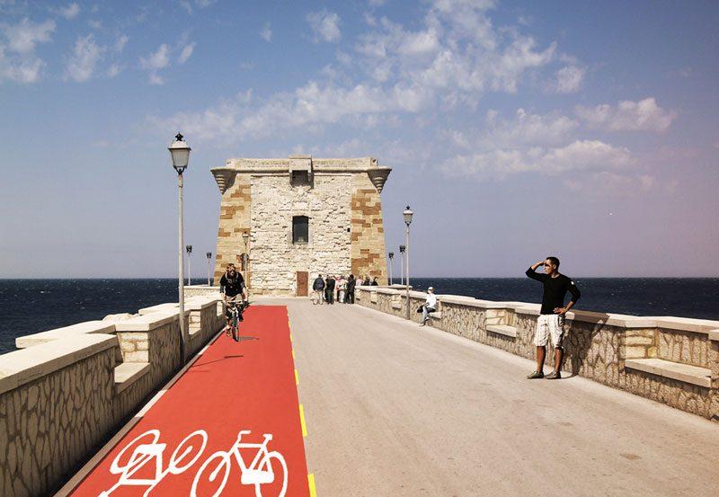 Ciclovia e servizio di bike sharing Trapani