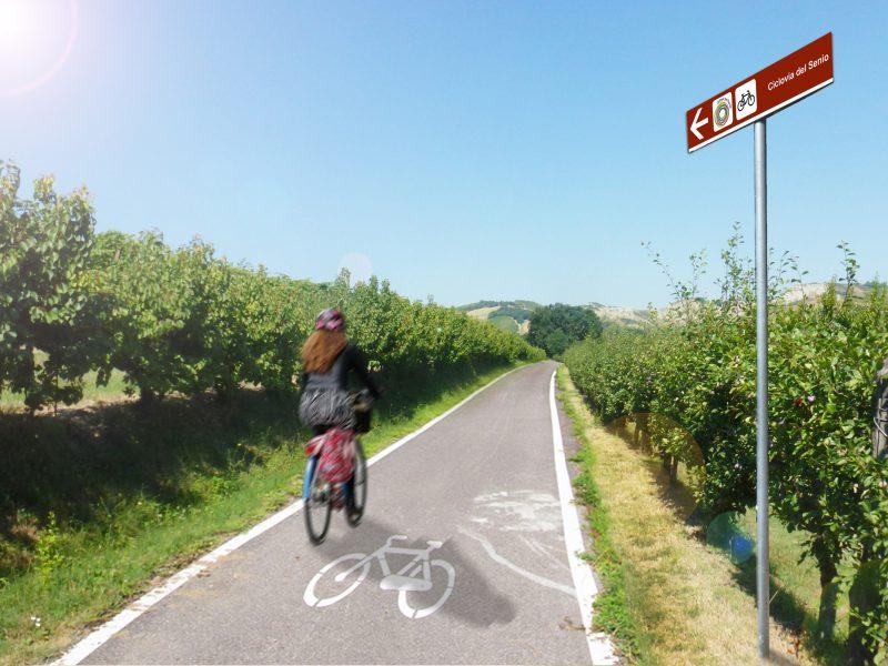 UN FIUME DI MEMORIA: Proposta preliminare di un itinerario cicloturistico della Linea Gotica sul Senio