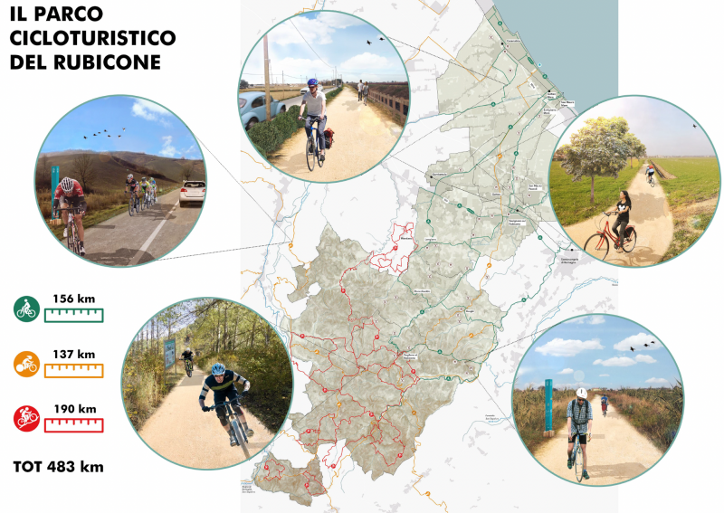Masterplan del Parco cicloturistico del Rubicone